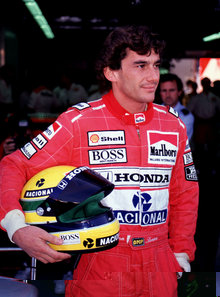 crash ayrton senna 1994